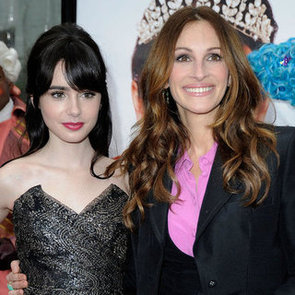 Julia Roberts Lily Collins Mirror Mirror Premiere Pictures
