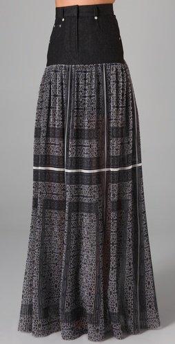 Preen Ash Maxi Skirt