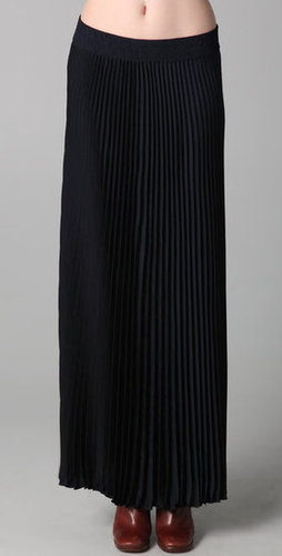 Rebecca Taylor Pleated Maxi Skirt | SHOPBOP