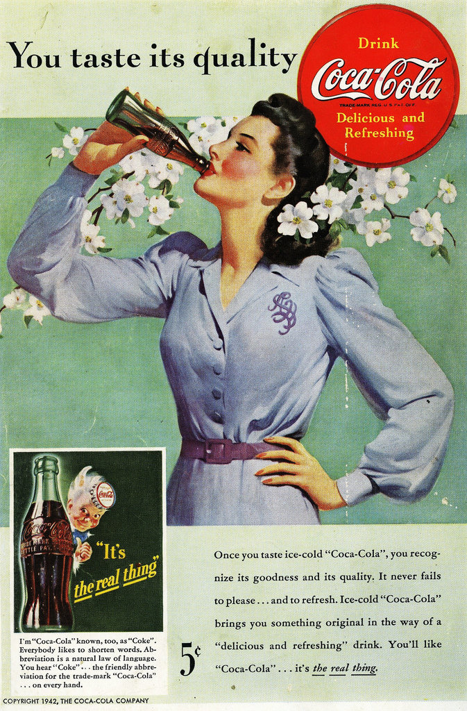 Stay refreshed this Spring with a Coke.