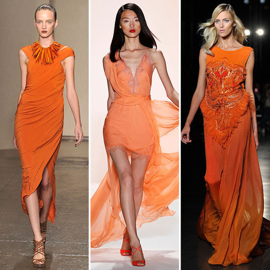 Colour Report: Outrageous Oranges