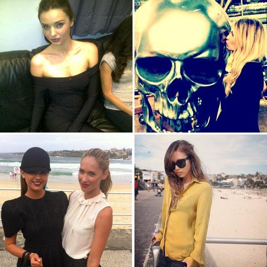 Best Fashion Twitter Pictures of the Week Starring Miranda Kerr, Karlie Kloss, Lara Bingle, Jennifer Hawkins & More!