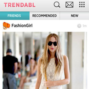 iPhone Fashion Photo App Trendabl
