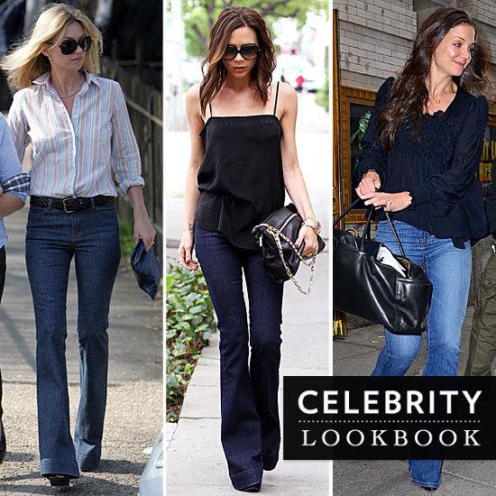 Celebrities Flare Jeans 2012