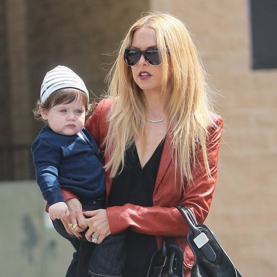 Rachel Zoe at Lunch in LA With Skyler Pictures