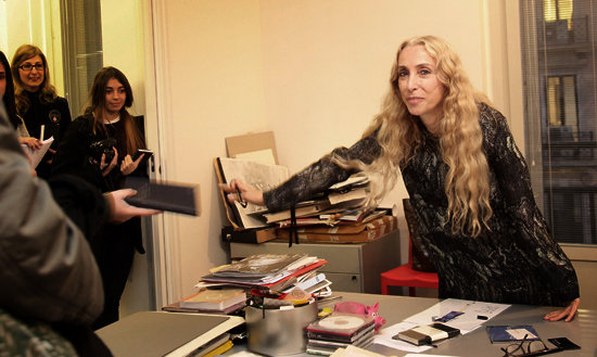 Franca Sozzani Marriage Rumors, Dolce & Gabbana Film Cameo