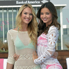 Miranda Kerr and Candice Swanepoel Victoria's Secret Bikini Pictures