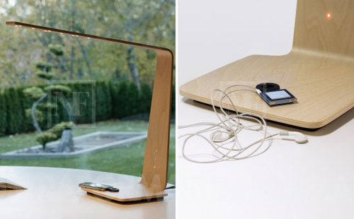 Tunto LED Lamp and Wireless Charger