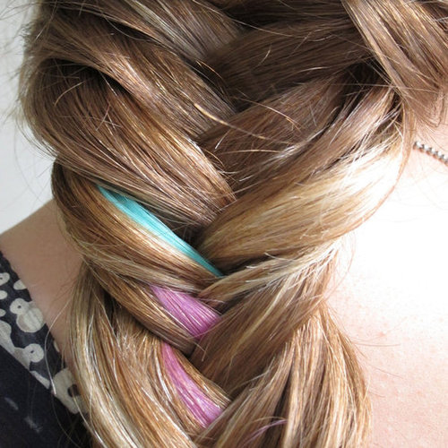 How to Create a Colorfully Cool Fishtail Braid