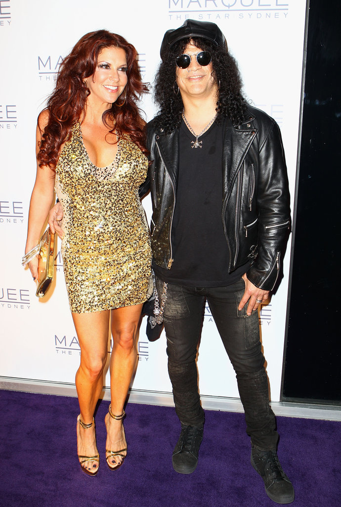 Perla Hudson and Slash