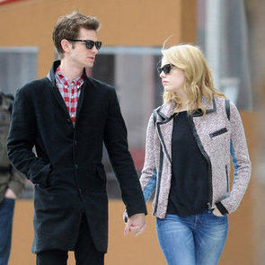 Emma Stone and Andrew Garfield Holding Hands Pictures in NYC