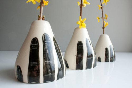 Grasp Triptych  (Vase)