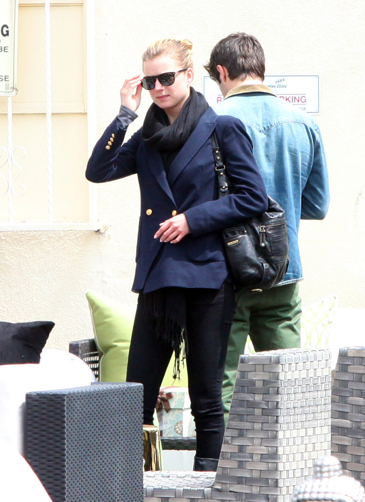 Emily VanCamp and Joshua Bowman were out in LA.