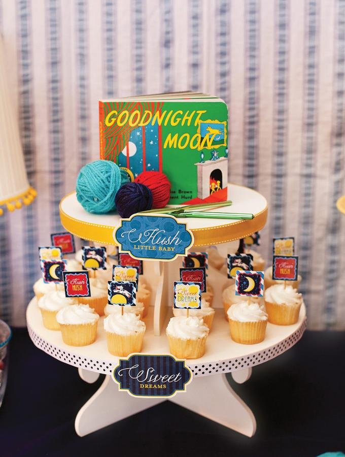 Goodnight Moon Cupcakes