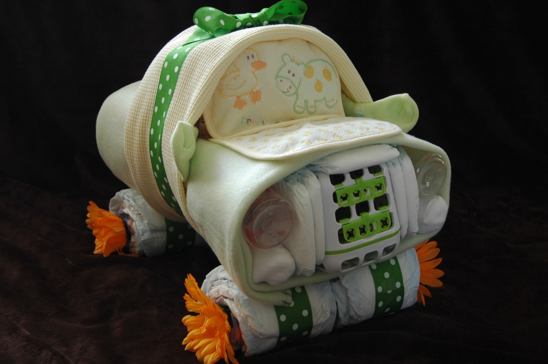 How To Make A Car Shaped Diaper Cake