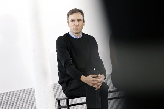 Raf Simons In at Dior