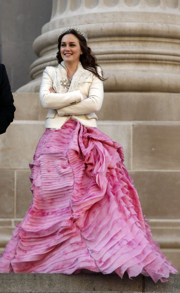 2012, On the Set of Gossip Girl