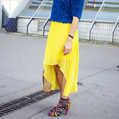 Spring Street Style Asymmetrical Skirts