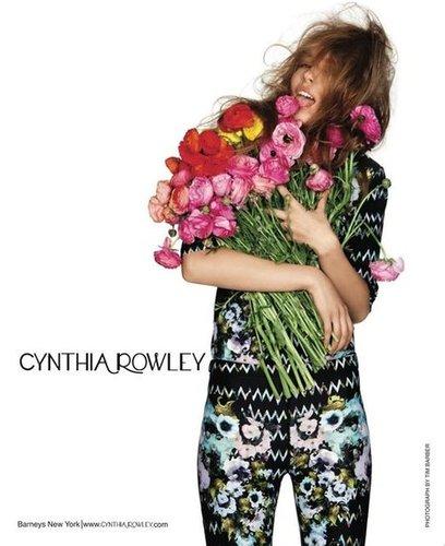 Cynthia Rowley Spring 2012 Ad Campaign