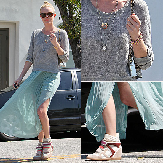 Kate Bosworth Isabel Marant Sneakers
