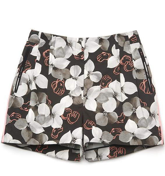 If you're seeking a style that marries both a classic silhouette and a dose of the on-trend, look no further. This pair has a spot-on fit with an awesome floral print.  Jason Wu Kaws Floral Fitted Short ($865)