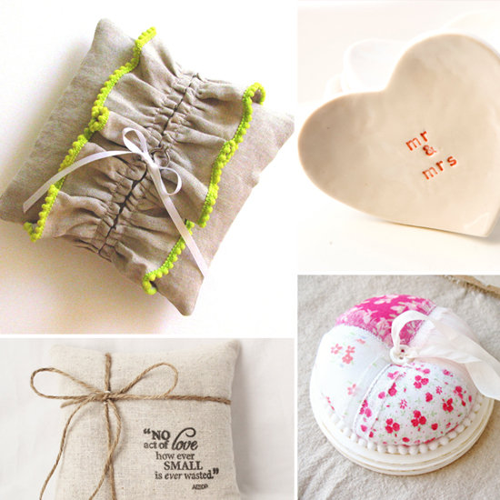 10 Supercute Pillows and Bowls For Lil Ring Bearers