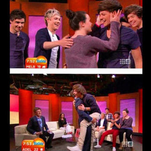 One Direction Australian TV Interview on Today