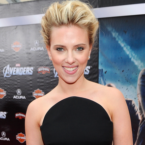 See Scarlett Johansson's Sexy Black Versace Dress for the Avengers Premiere in LA: Snoop her Black Widow Inpsired Outfit!