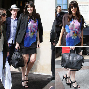 Liv Tyler Givenchy Floral Top