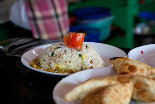Healthy Egg Biryani (Egg Fried Rice)