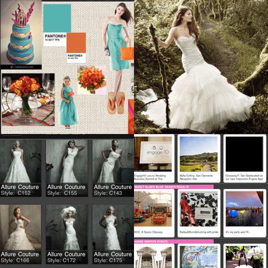 Get your creative juices flowing with Geek's wedding iPad app picks.