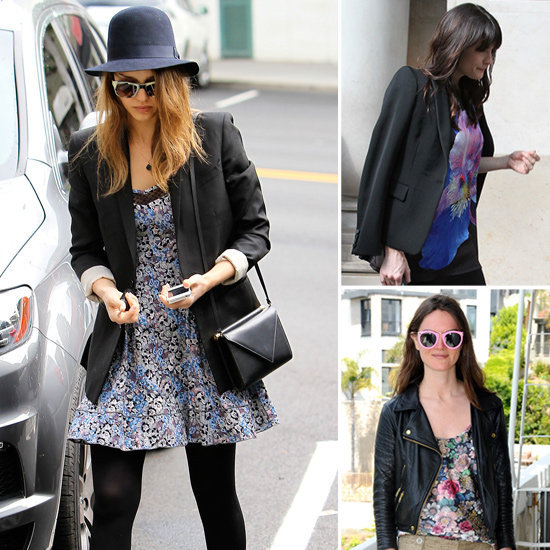 See three new celeb-approved ways to wear Spring florals.