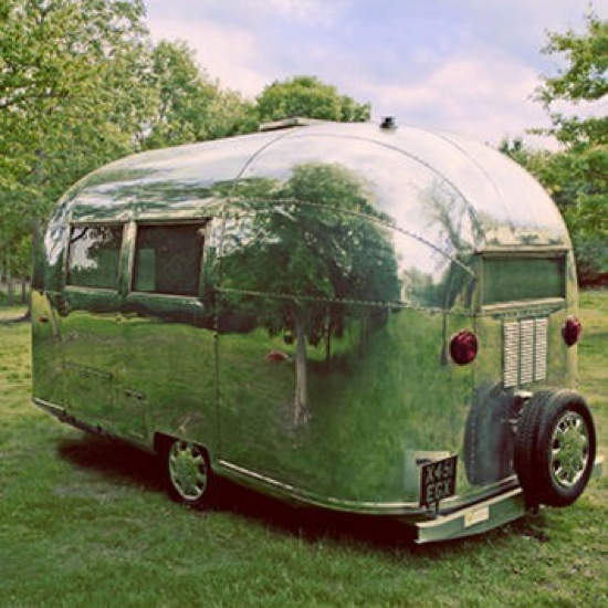 Vintage Airstream Eco Pop-Up Shop