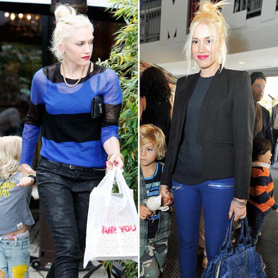 Gwen Stefani Bright Blue Jeans