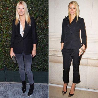 Gwyneth Paltrow Black Blazer Style