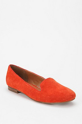 A burst of brights on your loafers would look awesome with rolled-cuff denim and a gingham button-down.  Dolce Vita Gilly Basic Loafer ($79)