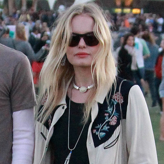 Kate Bosworth Wears Mulberry and Isabel Marant at Coachella