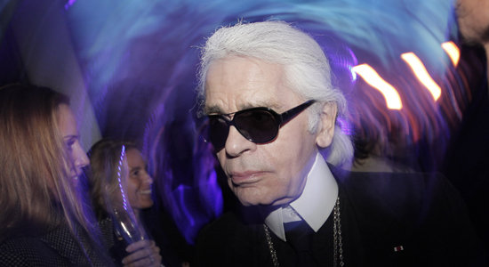 Karl Lagerfeld Diamond Jubilee Commentary, Tucker Film
