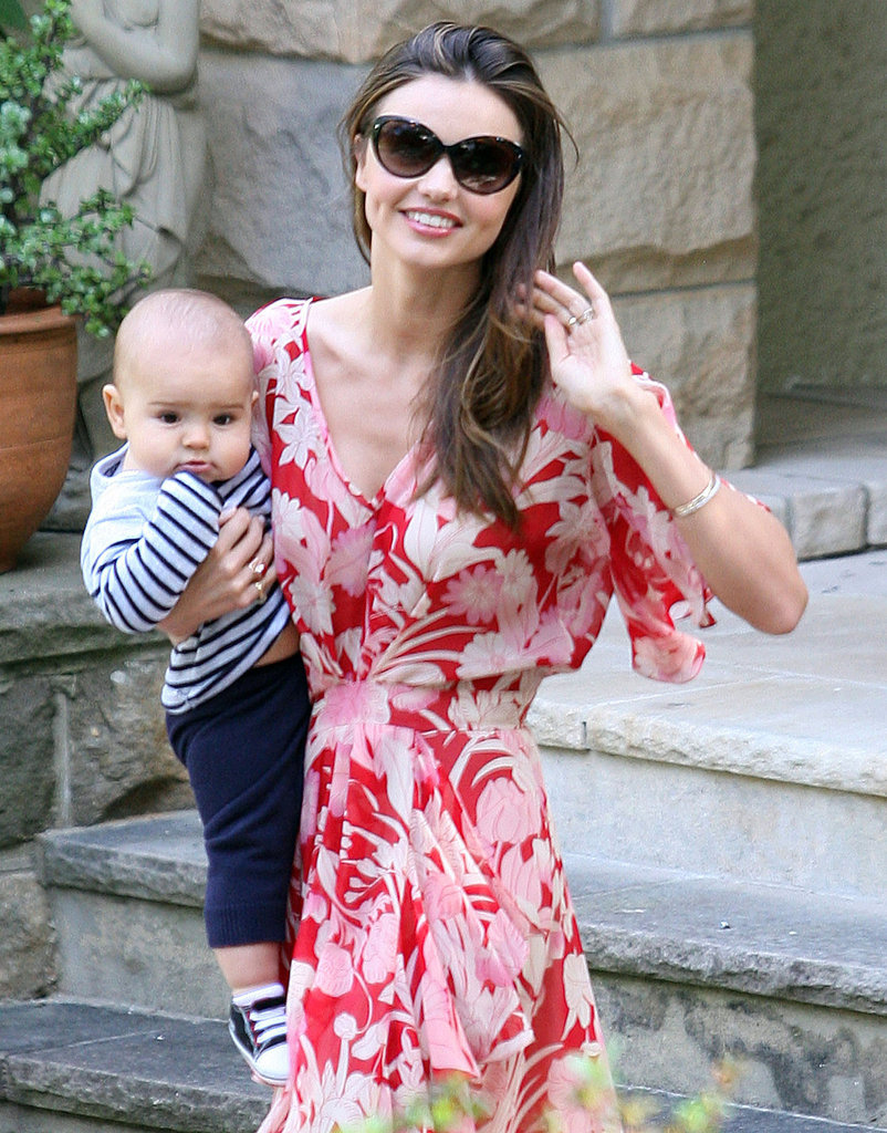 Miranda Kerr was all smiles during her August 2011 stay in Sydney.