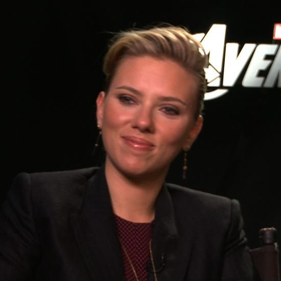 Scarlett Johansson Jeremy Renner Avengers Interview Video ...