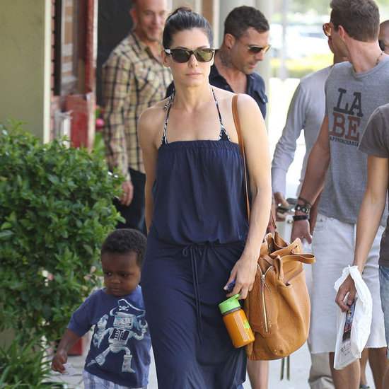 Sandra Bullock With New Man and Louis in LA Pictures