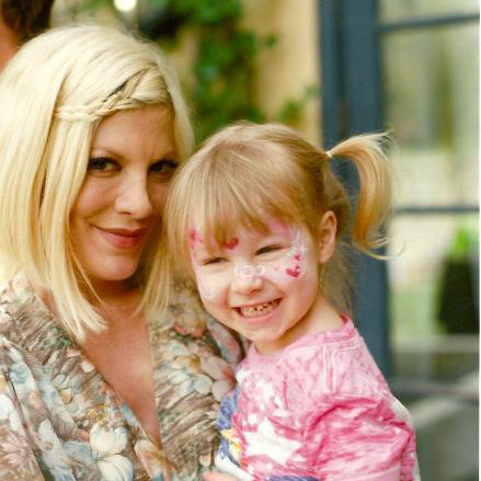Tori Spelling Discusses Motherhood
