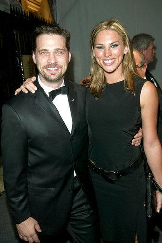 Jason Priestley and Naomi Lowde