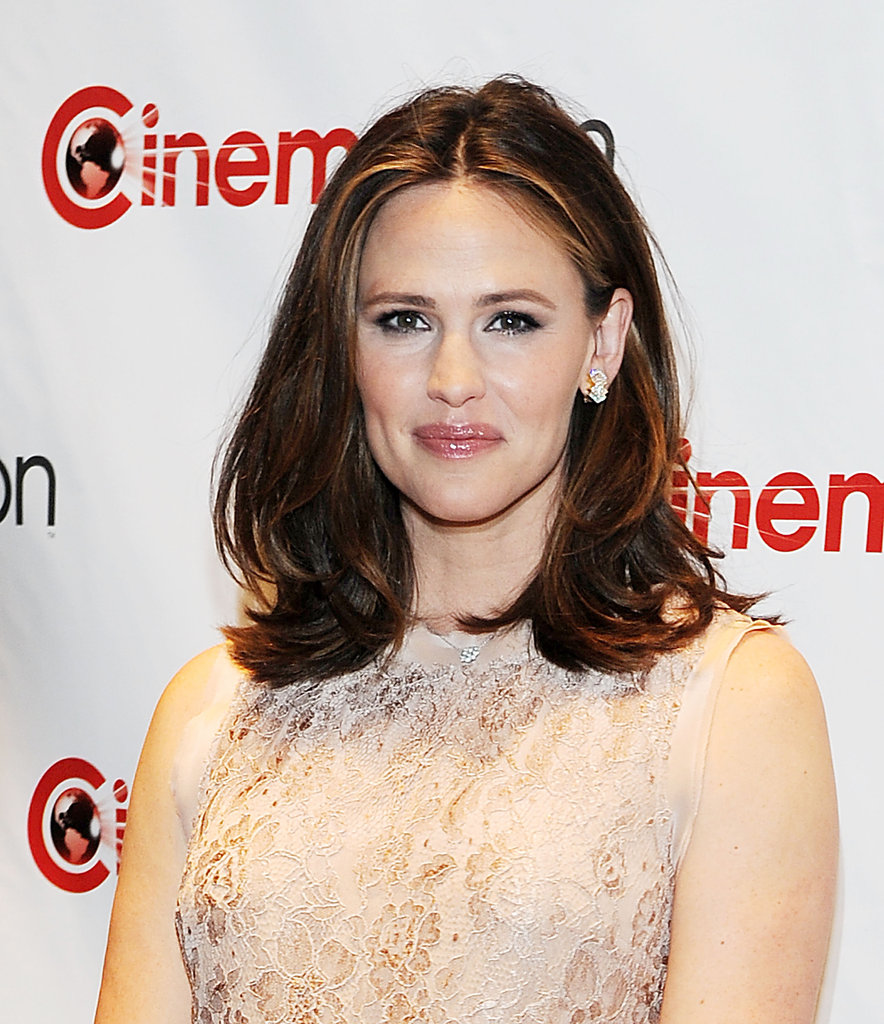 Jennifer Garner looked happy to attend the CinemaCon in Las Vegas.