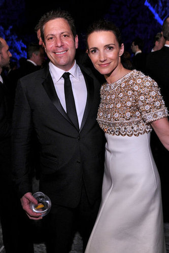 Darren Star and Kristin Davis