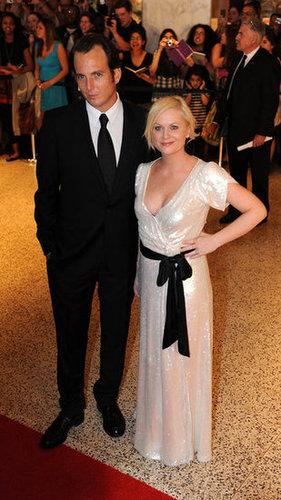 Will Arnett and Amy Poehler