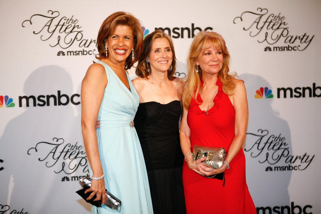 Hoda, Meredith, and Kathie