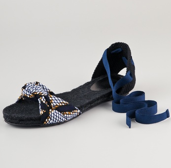 The ankle-wrap detail will highlight svelte legs — an ideal pair of sandals for your Spring-appropriate minis. Belle By Sigerson Morrison Maya Ankle-Wrap Espadrilles ($175)