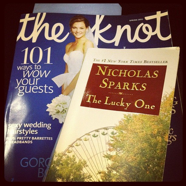 """Karlibulnes says, """"The Knot for daydreaming about Mr., The Lucky One for daydreaming about Mr. Efron."""""""