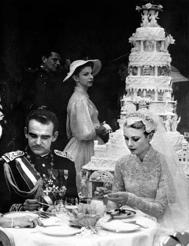 Prince Rainier III and Grace Kelly